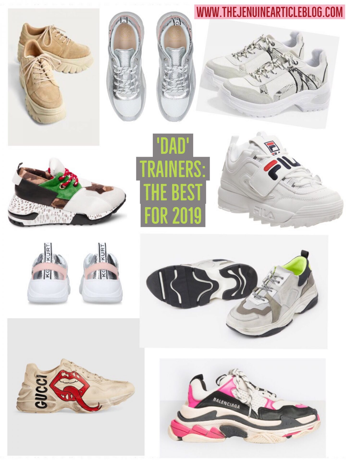 The best trainers for 2019